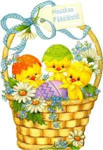 Hauskaa Pääsiäistä!
